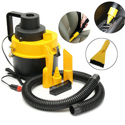 12V Aspirateur VCA Humide/ Sec Portable Turbo Poussiere Voiture Auto Camping car