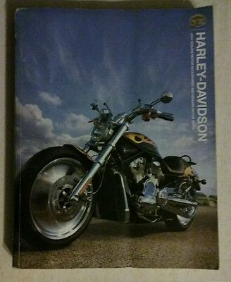 2004 Harley Davidson Genuine Motorcycle Accessories And Motor Parts Catalogue.