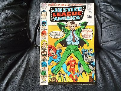Justice League fo America # 77 nice condition but 2inch tear on page 1