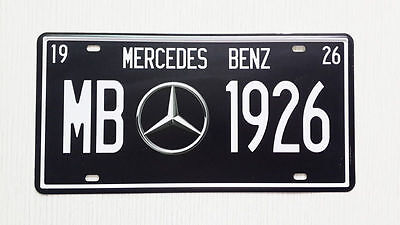 mercedes  benz  NUMBER PLATE 30 CM BY 15 CM clearance sale