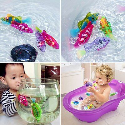 Swimming Robot Fish Activated in Water Magical Electronic Toy Kids Child Gift