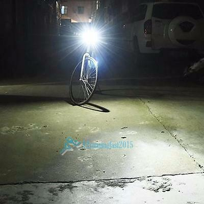 300LM Cycling Bicycle CREE LED Lamp USB Rechargeable Bike Front  Light New!