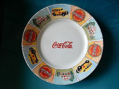 """Coca-Cola Gibson Good Ole Old Days Luncheon Lunch Plate 9"""""""