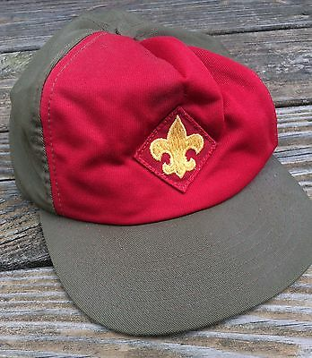 Vintage Boy Scouts of America Small / Medium Snapback Ball Cap - 1970s