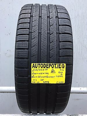 235/35R19 CONTINENTAL CONTI WINTER CONTACT 91V XL Part worn tyre (W565)