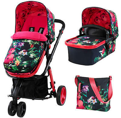 New Cosatto giggle 2 pram and pushchair in Tropico with bag footmuff & raincover