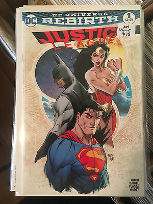JUSTICE LEAGUE #1 NM 1st Print ASPEN MICHAEL TURNER VARIANT Batman Superman