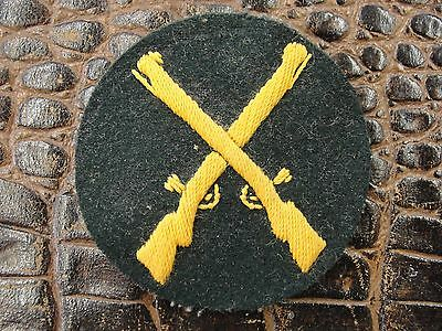Original German Army WW2 Waffenfeldwebel Patch by G & Co. Crossed Guns