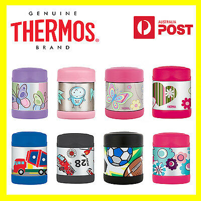 100% Genuine! THERMOS Funtainer Kids S/Steel 290ml Vacuum Insulated Food Jar