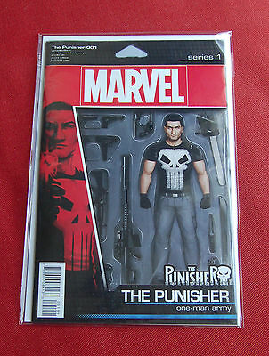 The Punisher - Issue 1 - Becky Cloonan, Steve Dillon - Action Figure Variant