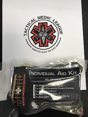 North American Rescue NAR Individual Aid Kit-IFAK Kit-2018 -2019 Expirations
