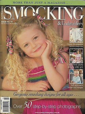 Australian SMOCKING & EMBROIDERY Magazine Issue 78 (2007) Inc Baby Romper