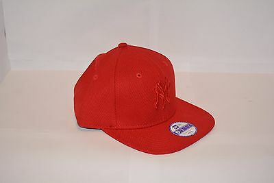 Casquette New Era Youth NY Snapback Diamond Era Tonal SCA red
