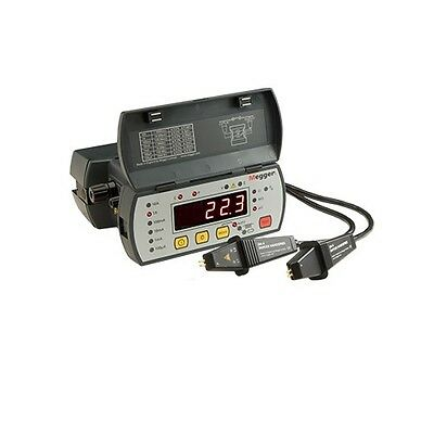 Megger DLRO10 Enhanced Featured Digital Low Resistance Ohmmeter, 10 Amp