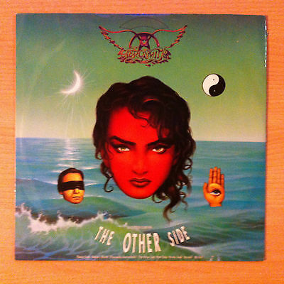 "AEROSMITH   "" The Other Side ""  - Vinyl maxi  12""  - Geffen GEF 79T  -  1990 UK"