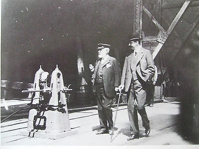 Titanic Postcard- The Builder Lord Pirrie And Chairman White Star J Bruce Ismay
