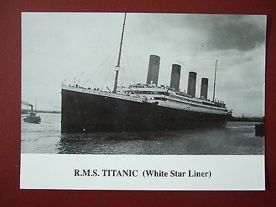 Titanic Postcard- 80Th Anniversary Of Maiden Voyage