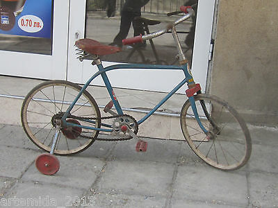 VERY RARE Vintage Russian Childern's Bike Bicycle DKV-2 USSR 1940's-1950's