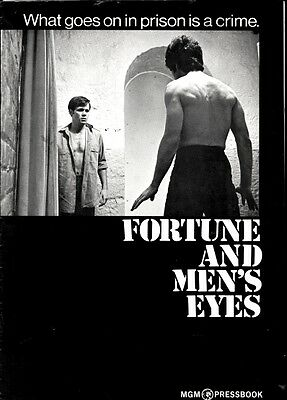FORTUNE AND MEN'S EYES pressbook, Wendell Burton, Michael Greer, Zooey Hall
