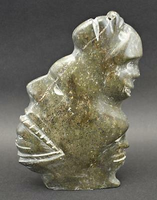 stone inuit carving