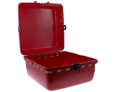 Top case Pizza box scooters 50x50x31cm in red