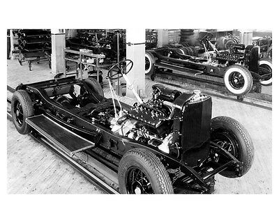 1932 Lincoln Factory Photo uc6564