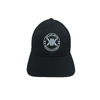 Miken Koalition Hat by Pacific (404M) KO/ ALL BLACK/ SILVER SM/MD (6 7/8- 7 3/8)