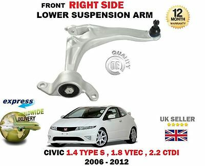 FOR HONDA CIVIC 1.4 1.8 2.0 2.2 CDTi TYPE-R FRONT LOWER SUSPENSION WISHBONE ARMS