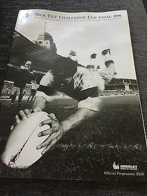 Rugby League Challenge Cup Final Programmes