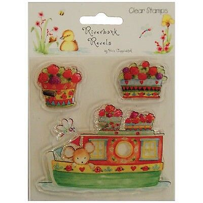 BARGE - Clear Stamp Set - Helz Cuppleditch Riverbank Revels Collection