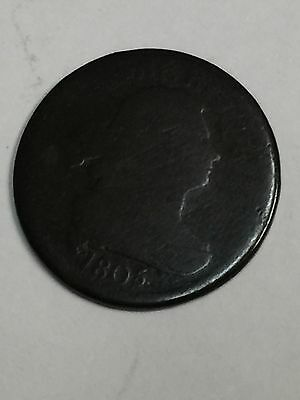 1805 Draped Bust Large Scent. Usa
