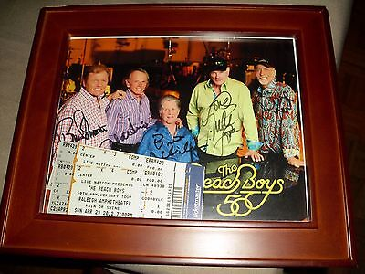 The Beach Boys Signed By 5