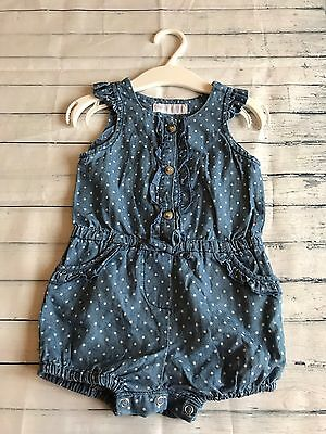 Baby Girls Clothes 6-9  Months - Cute Jumpsuit Outfit -