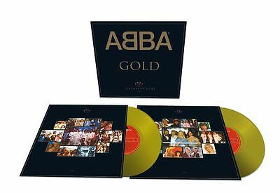 ABBA GOLD GREATEST HITS 25th ANNIVERSARY PRESALE REISSUE GOLD VINYL 2LP OUT 30/6