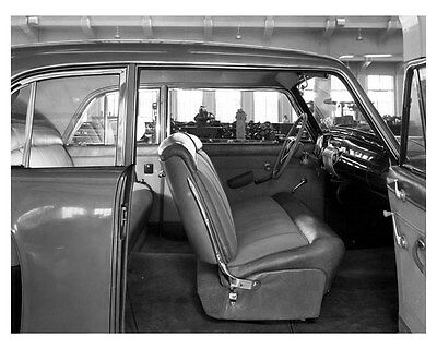 1941 Lincoln Continental Coupe Interior Factory Photo uc6690