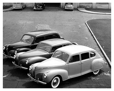 1940 Lincoln Zephyr & 1940 Lincoln Continentals Factory Photo uc6681