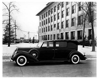 1938 Lincoln Factory Photo uc6648