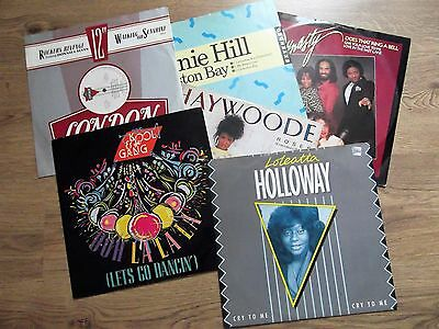 "6 X 12"" Records - Job Lot - Funk & Soul Collection - Ex"