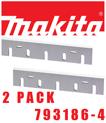 "New : Makita 793186-4 : 6-3/4"" Hss Planer Blades - 2Pk : Genuine Part Fits 1806B"