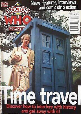 DOCTOR WHO MAGAZINE ISSUE 243 SEPTEMBER 25th1996