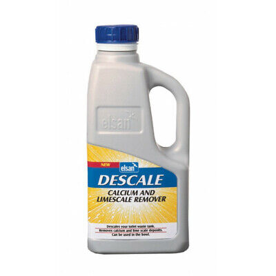 ELSAN Descale Calcium and Lime Scale Remover - 1 Litre - DESC01