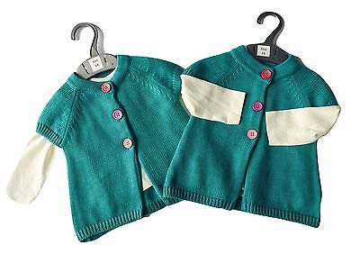 Baby Girls Cardigan Sweater Top Shirt NEW Outfit MOTHERCARE 3 6 9 12 18 24 Month