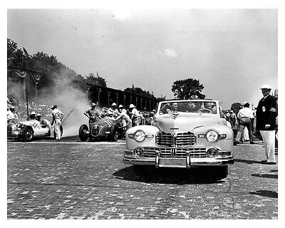 1946 Lincoln Factory Photo uc6709