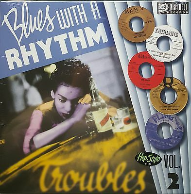 "VA. BLUES WITH A RHYTHM VOL 2 10""-EL PAULING RICKY ALLEN BLACK ROCKERS 50s/60s"