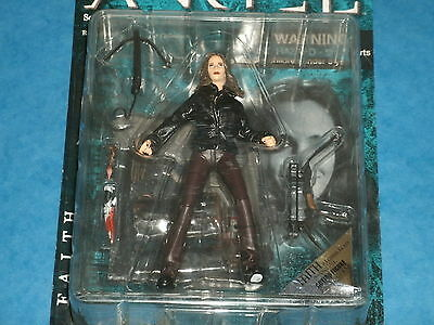 Angel/Buffy The Vampire Slayer: FAITH 'In Leather Jacket' Action Figure Express