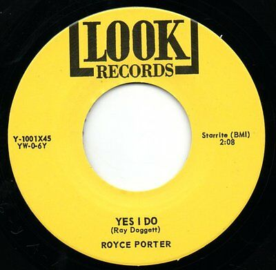 ROYCE PORTER 45 RE - YES I DO / LOOKIN' - KILLER DANCEFLOOR 50s TEXAS ROCKABILLY