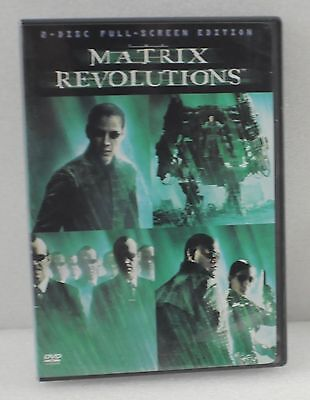 The Matrix Revolutions DVD Movie