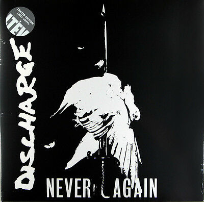 Discharge - Never Again (Limited Grey Vinyl LP) New & Sealed