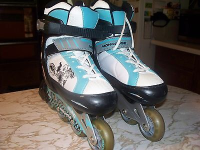 Mongoose Rollerblades Inline Skates Youth Adjustable Size 1-4