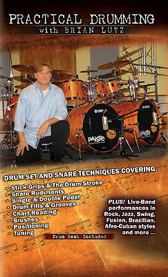 Practical Drumming with Brian Lutz  (3 Hour Instructional DVD)